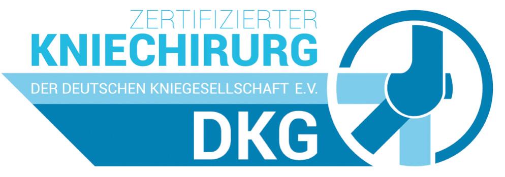 Zertifizierter Kniechirurg DKB